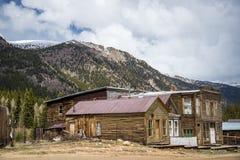 圣Elmo科罗拉多鬼城 库存图片