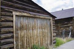 圣Elmo鬼城在科罗拉多和金镇 免版税库存照片