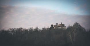 圣Galgano教堂在Montesiepi,托斯卡纳 库存图片