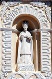 圣Geronimo, St Jerome, Comayagua,洪都拉斯雕象。 免版税库存图片