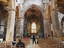 圣Giles大教堂在爱丁堡 免版税库存图片