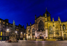 圣Giles的大教堂 库存照片