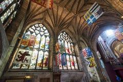 圣Giles的大教堂 免版税库存照片