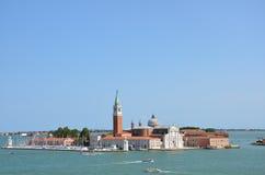 圣Giorgio Maggiore -威尼斯-意大利 图库摄影