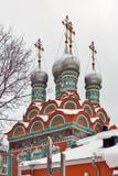 圣Grigory Neokesariisky,莫斯科,俄国教会  免版税库存照片