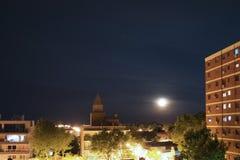 圣Isidro市夜视图在布宜诺斯艾利斯 库存图片