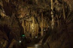 圣Istvan洞  匈牙利 米什科尔茨 Lillafured 库存照片
