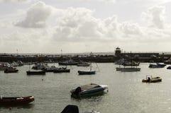 圣Ives港口 图库摄影
