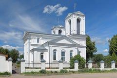 圣Kasimir教会在Lepel,白俄罗斯 库存图片