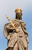 圣Kunigunde,琥珀雕象  库存图片