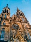 圣Ludmila教会 库存图片