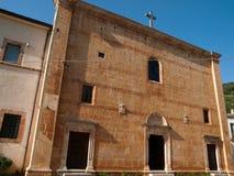 圣Marco在Lamis -意大利 库存照片