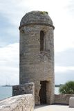 圣Marco城堡塔 免版税库存图片