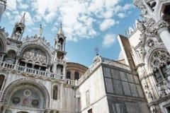 圣Marco大教堂在威尼斯,意大利 库存图片