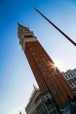圣Marco广场鱼眼睛视图在威尼斯,意大利10 库存照片