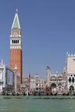 圣Marco钟楼 免版税库存照片