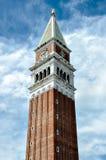 圣Marco钟楼 图库摄影
