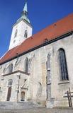圣Martins大教堂,布拉索夫,斯洛伐克 库存图片