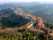 圣Miniato,托斯卡纳,意大利 免版税图库摄影