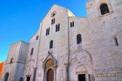 圣Nicola大教堂教会  驳船 普利亚 意大利 免版税库存照片