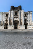 圣Nicolo l `竞技场本尼迪克特的修道院在卡塔尼亚 免版税图库摄影
