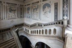 圣Nicolo l `竞技场16世纪本尼迪克特的修道院在Cata 免版税库存照片