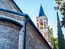 圣Nino修道院在西格纳吉 免版税库存图片