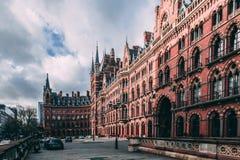 圣Pancras新生,伦敦,圣Pancras 免版税库存图片