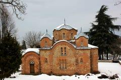 圣Panteleimon教会 免版税库存照片