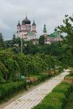 圣Panteleimon Kievan修道院  库存照片