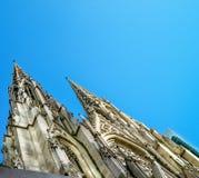 圣Patricks大教堂,纽约艺术性的看法  免版税库存图片