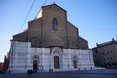 圣Petronio大教堂波隆纳 库存图片