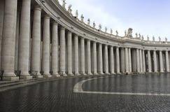 圣Pietro在Vaticano 库存照片