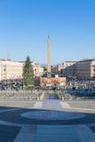 圣Pitro,梵蒂冈 库存照片