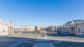 圣Pitro,梵蒂冈 库存图片