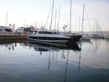 圣rocco小游艇船坞 免版税图库摄影