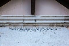 圣Rocco教会在罗卡拉索,阿布鲁佐,意大利, 20 10月13日, 免版税库存照片