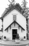 圣Rocco教会在罗卡拉索,阿布鲁佐,意大利, 20 10月13日, 免版税图库摄影