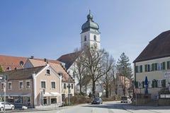 圣Sebastian在埃贝尔斯贝尔格 免版税库存照片