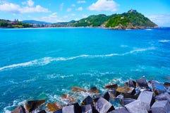 圣Sebastina海岸 库存图片