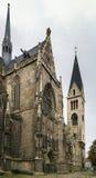 圣Sephan,哈尔贝尔斯塔特,德国大教堂  免版税图库摄影