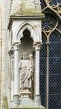 圣Sephan,哈尔贝尔斯塔特,德国大教堂  库存照片