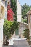 圣Tropez,法国海滨 库存图片