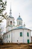 圣Varlaam教会在沃洛格达州 免版税库存图片