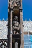 圣Vitus大教堂的装饰 免版税库存图片