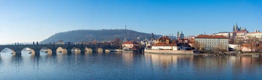圣Vitus,布拉格城堡和伏尔塔瓦河河大教堂  免版税库存照片