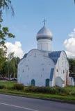 圣Vlasii, Veliky诺夫哥罗德教会  库存照片