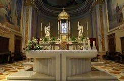 圣Zenone教会在坎比亚戈 免版税图库摄影