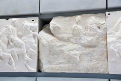 在Ù 上城博物馆-希腊的古老古董 免版税库存图片