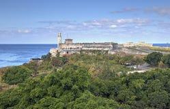 在'El Morro的'看法 免版税库存照片